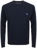 Pretty Green Hinchcliffe Crew Neck Jumper Navy