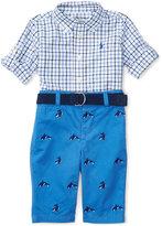 Ralph Lauren Poplin Shirt & Twill Pants Set, Baby Boys (0-24 months)