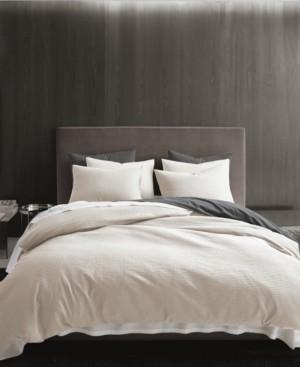 Vera Wang Waffle Pique Queen Comforter Set Bedding