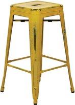 Office Star BRW3026A2-AY Bristow Metal Barstool