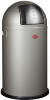 Wesco Pushboy Bin - 50L - New Silver