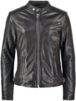 Redskins Nitro Carter Leather Jacket Black