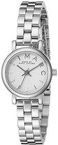 Marc by Marc Jacobs Women's MBM3430 Baker Analog Display Analog Quartz Silver-Tone Watch