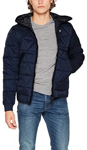 G Star Men's's Strett Utility Qlt HDD JKT Jacket, (Mazarine Blue 4213)