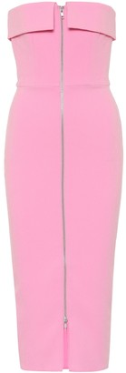 Alex Perry Moore stretch-crepe midi dress