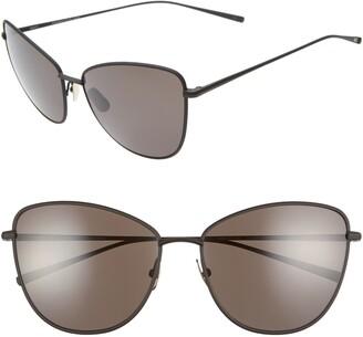 Salt Sherri Ann 60mm Polarized Cat Eye Sunglasses