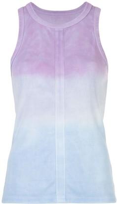 Proenza Schouler White Label Tie Dye Ombre Tank Top
