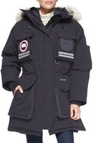 Canada Goose Snow Mantra Fur-Hood Coat, Navy