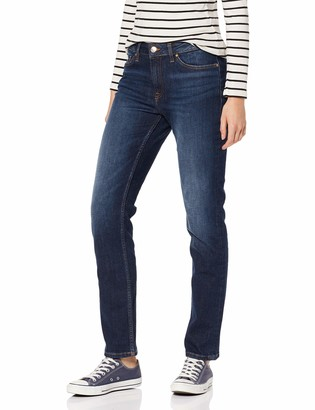 Tommy Hilfiger Women's Rome Rw Absolute Blue Straight Jeans
