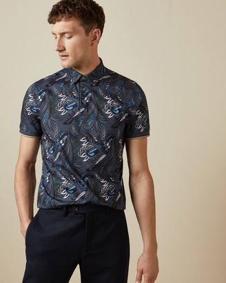 Ted Baker All Over Printed Polo