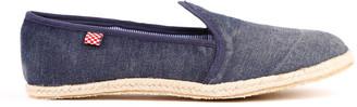MC2 Saint Barth Bluette Canvas Beach Shoes