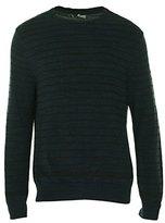 Calvin Klein Jeans Men's 7 GG Denim Yarn Stripe Sweater