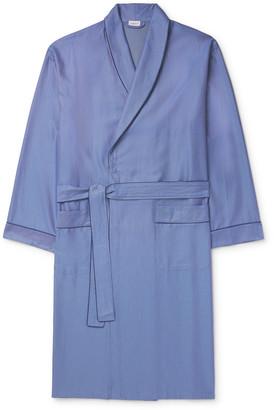 Zimmerli Cotton-Jacquard Robe