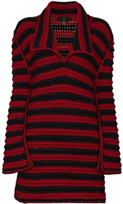 Alanui Crochet Striped Maxi Jumper