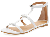 Marc by Marc Jacobs Cube Bow Leather Sandal