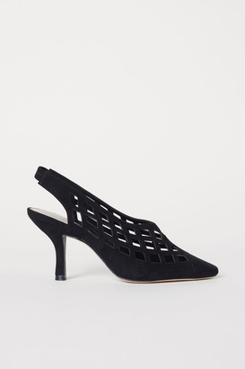 H&M Slingbacks with Heel - Black