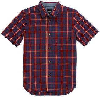 Vans Boys Rockwood Short Sleeve Shirt