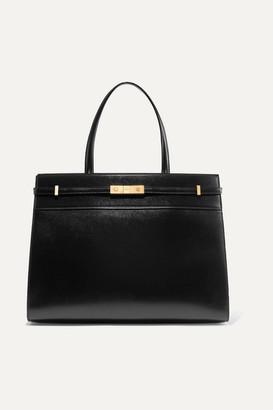 Saint Laurent Manhattan Medium Leather Tote - Black