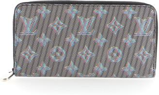 Louis Vuitton Zippy Wallet Damier Monogram Pop Canvas