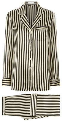 Olivia von Halle Lila Nika Silk Pyjama Set