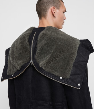 AllSaints Ramac Shearling Coat