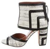 Rebecca Minkoff Marley Snakeskin Sandals