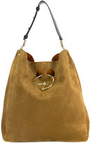 J.W.Anderson slouchy hobo bag - women - Suede - One Size