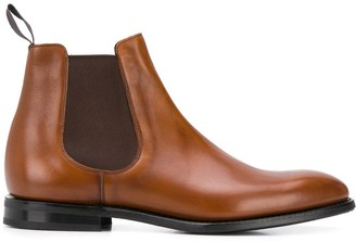 Church's Slip-On Leather Boots