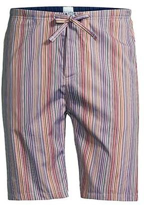 Paul Smith Striped Pajama Shorts