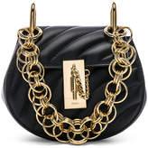 Chloé Nano Drew Bijou Quilted Smooth Calfskin Shoulder Bag