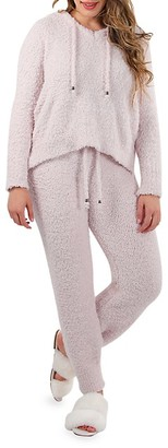 Me Moi Chenille Cozy Knit Hoodie