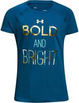 Under Armour Bright-Print T-Shirt, Big Girls