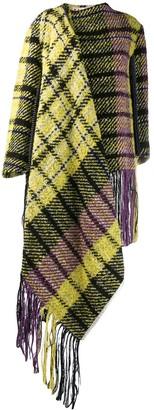 Marni oversized plaid coat