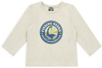 Bonton Cotton Dinosaur Graphic T-Shirt (6-36 Months)