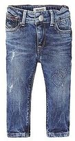Tommy Hilfiger Big Girl's Th Kids Slim Mini Jean