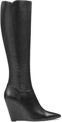 Nine West Varin Wide Calf Wedge Boots