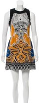 Etro Abstract Print Silk Dress
