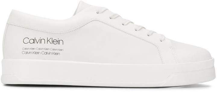 Calvin Klein logo lace-up sneakers
