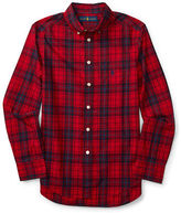 Ralph Lauren Boys 8-20 Boys Embroidered Cotton Shirt