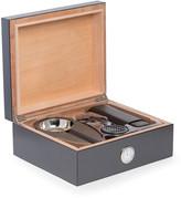 Bey-Berk Bey Berk Carbon Fiber Cigar Humidor & Accessories Set