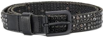 Diesel Studded Raw Edge Belt