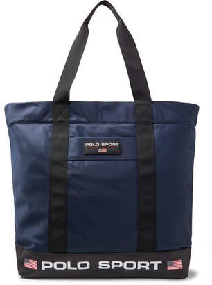 Polo Ralph Lauren Logo-Appliqued Nylon Tote Bag