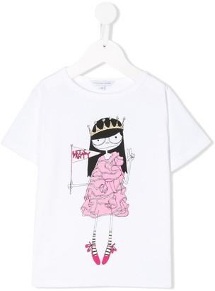 Little Marc Jacobs Let's Party print T-shirt