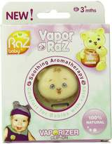 Razbaby Vapor-Raz Aromatherapy Clip with Menthol/Eucalyptus and Lavender Pads, 3 Months