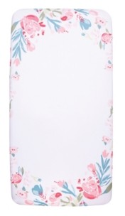 Trend Lab My Tiny Moments Painterly Floral Photo Op Crib Sheet Bedding