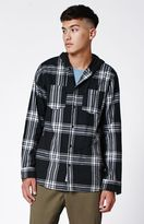 Modern Amusement Harris Twill Plaid Woven Shirt
