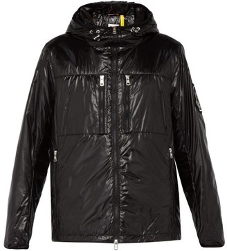 Moncler 2 1952 - Logo Applique Hooded Padded Jacket - Mens - Black