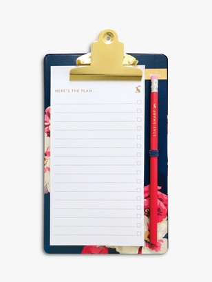 Joules Bircham Bloom List Pad and Mini Clipboard