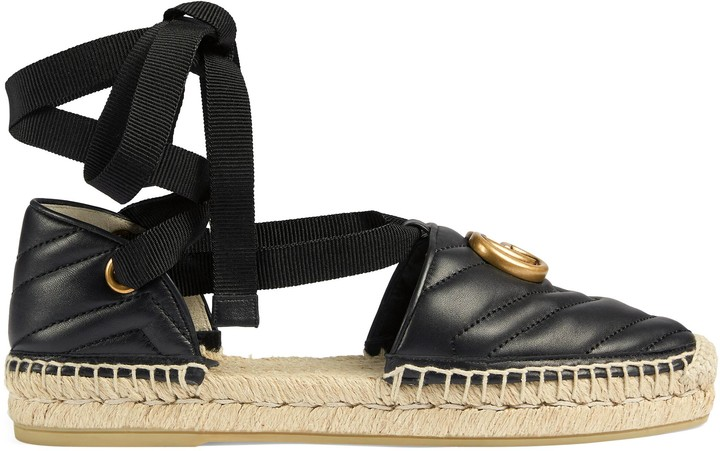 Gucci Women's espadrille sandal with Double G