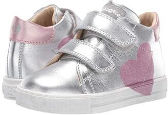 Naturino Falcotto Heart VL AW19 (Toddler) (Silver) Girl's Shoes